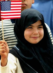 muslim-girl-with-american-flag-11